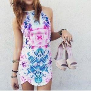 LF stores multi colored dress